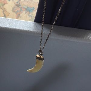 Jewelry - Long sharktooth necklace